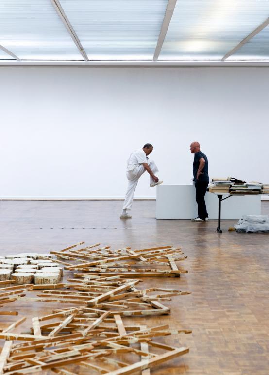 Kunsthalle Rostock, Günther Uecker und Edwin Bader