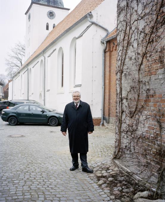 Loitz, Peenetal, Pfarrer Gienke