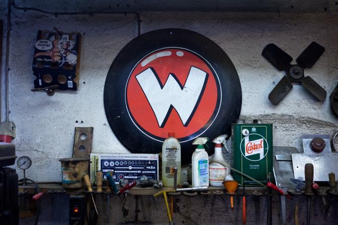 Die Garage von Rötger Feldmann