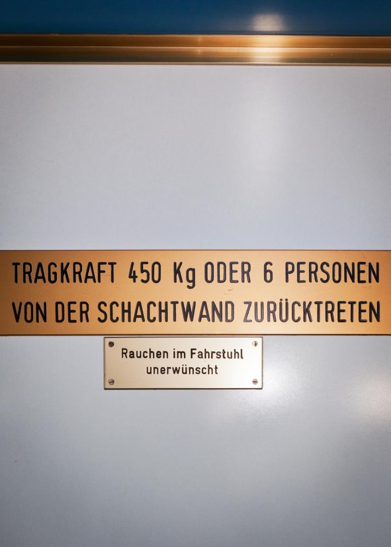 Kölln Flocken, Elmshorn, Fahrstuhl Firmenzentrale