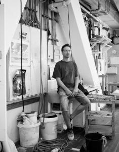 Marten Voigt, leitender Theatermaler im Thalia Theater Hamburg