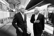 Deutsche Bahn Wolfgang Kaden und Rüdiger Grube
